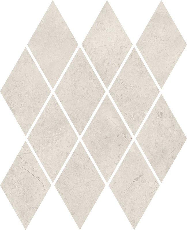 Afternoon Silver Mozaika Prasowana Romb Pillow