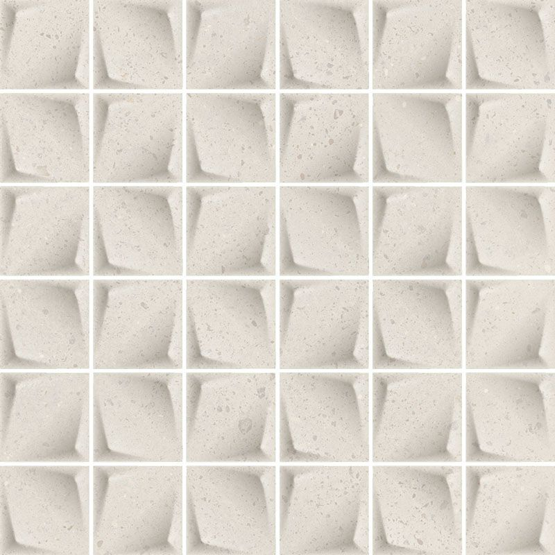 Effect Grys Mozaika Prasowana Mat