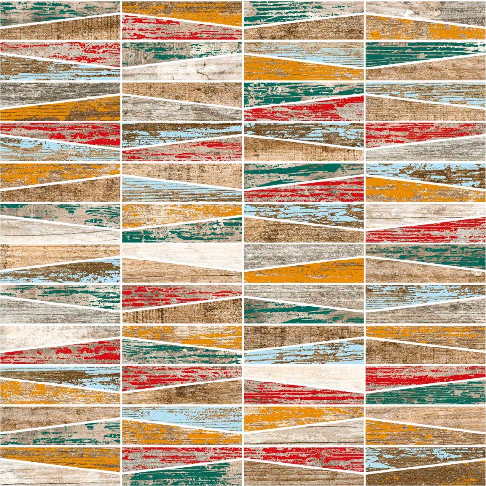 Mosaico Cincel Multicolor 30x30