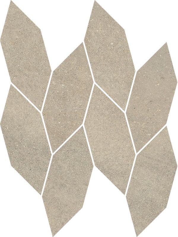 Smoothstone Bianco Mozaika Cięta Satyna 22.3x29.8