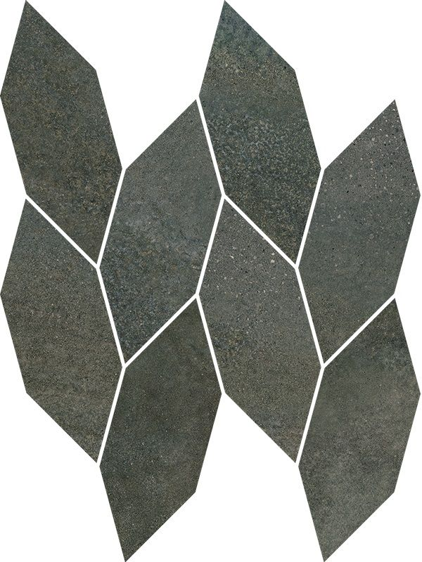 Smoothstone Umbra Mozaika Cięta Satyna 22.3x29.8